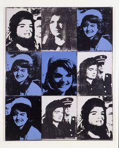 Andy Warhol's Jackie - Nine Jackies by Andy Warhol