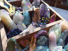 spirit quartz, crystal