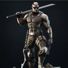 Blade, The Daywalker Marvel Vs, Marvel Dc Comics, Marvel Heroes, Marvel Characters, Comic Books Art, Comic Art, Comic Character, Character Design, Blade Marvel