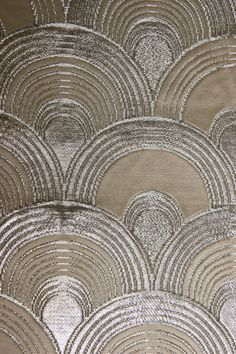 silver seigaiha (shell) pattern on a japanese obi, collection Carolina Breuer
