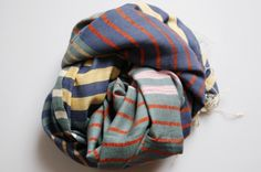 A mashup of colorful stripes. $165