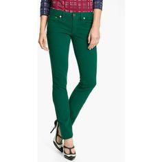 Tory Burch 'Ivy' Skinny Stretch Jeans (1.851.765 IDR) found on Polyvore