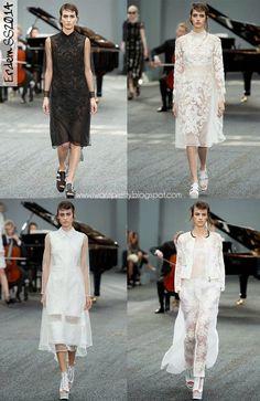 I want pretty: London Fashion Week Spring Summer 2014- Primavera-Verano 2014 Erdem