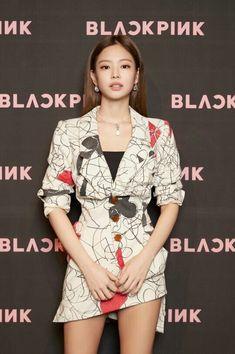 180615 • BLACKPINK Jennie at the press conference at CGV Cheongdam CineCity