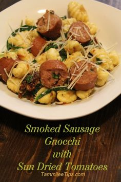 smoked sausage gnocchi with sun dried tomatoes smoked sausage gnocchi ...