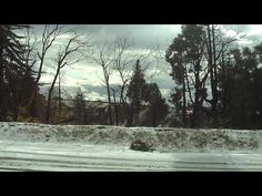 Video of snow in the San Bernardino Mountains.