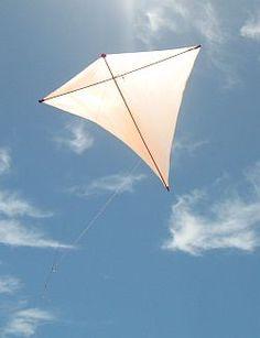 Diamond Kite without tail (Eddy Kite).