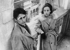Annie Girardot and Alain Delon, Rocco e i suoi fratelli (1960)
