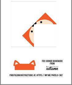 Corner Bookmarks, Bookmarks Kids, Paper Toys, Paper Crafts, Origami, Bookmark Craft, Mini Albums, Christmas Tree Cards, Paper Models