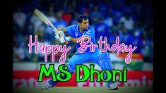 MS Dhoni Birthday status Dhoni WhatsApp status    Dhoni Birthday Status ... Indian Girls Images, Status Hindi, Ms, Happy Birthday, Funny, Youtube, Beautiful, Happy Brithday, Urari La Multi Ani