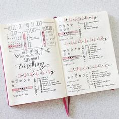 bullet journal inspiration photo by @rozmakesplans • 1,193 likes