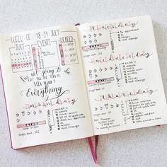 bullet journal inspiration photo by @rozmakesplans • 1,193 likes