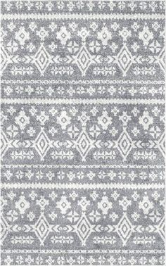 Rugs USA Gray Centura Distressed Tribal Bands rug - Southwestern Rectangle x Grey Rugs, Well Woven, Distressed, Beige Area Rugs, Rectangle, Rugs, Grey Area Rug, Areas, Rug Pad