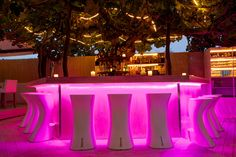 Iconic Ibiza open air lounge bar Km5 Ibiza is a classic part of the island's nightlife scene, famous for its legendary parties taking place under the stars each sultry summer night.