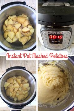 Can You Cook Mashed Potatoes in an Instant Pot? - Eat Like No One Else Can You Cook Mashed Potatoes in an Instant Pot? - Eat Like No One Else Jana Gusman gusmanj Instant pot duo crisp air fryer recipes Can You Cook Mashed Potatoes in an Instant Pot Mashed Potatoes With Skin, Cooking Mashed Potatoes, Mashed Potato Recipes, How To Cook Potatoes, Cheesy Potatoes, Baked Potatoes, Yukon Gold Mashed Potatoes, Instant Pot Pressure Cooker, Kitchens