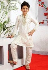 CRAFTSTRIBE Mens Gold Jacquard Silk Designer Only Nehru Jacket