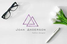 Minimalist Logo / Minimalist Branding Design / Fashion Designer Logo / Premade Logo