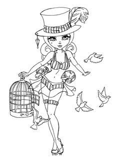 The magician assistant by JadeDragonne.deviantart.com on @deviantART