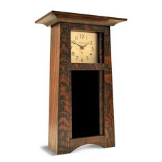 Motawi Tileworks Collection Call To Put Tile in Frame Our tile clocks are made by Schlabaugh and Sons, founded in 1981 and located in Kalona, Iowa. The Vertical Craftsman clock is constructed of quart