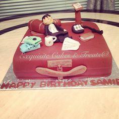 Lazy lawyer cake