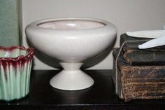 Haeger Compote Bowl Pedestal Vase Planter by AstridsPastTimes, $22.00