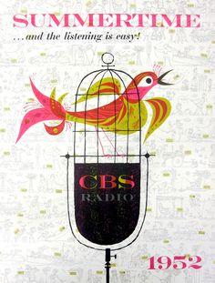 CBS Radio Ad, 1952
