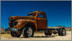 Rusty Truck / Old Car / Vintage by Michael_Wandrer