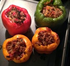 Put some 'pepper in your step! You MUST try Broke and Bougie's Italian Stuffed Peppers - delish and low carb! Recipe on blog!