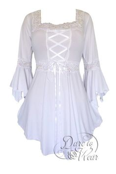 Dare To Wear Victorian Gothic Renaissance Corset Top Icing