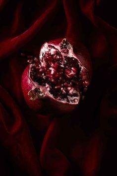 Parish Stapleton, Marty Lochmann and Stylist Lab Marsala, Samhain, Mabon, Fruit Défendu, Burgundy Aesthetic, Hades And Persephone, Grenade, Burgundy Color, Red Plum