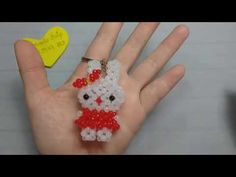(253) How to make rabbit 2. P1. Dạy kết cườm con thỏ đẹp - YouTube Beading Tutorials, Beading Patterns, Bead Jewellery, Beaded Jewelry, Perler Bead Disney, Beaded Crafts, Beaded Animals, Beaded Bags, Bead Art