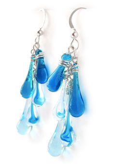 Tropical Waters Cascade Earrings