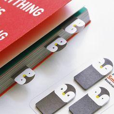 Penguin Bookmark Tabs