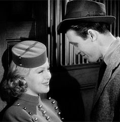 """misstanwyck: """" How to kiss a girl by Jimmy Stewart. Take notes fellas. """" ♥"""
