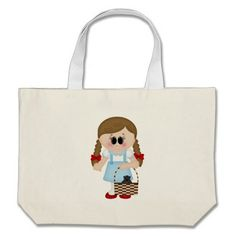 oz dorothy and toto tote bags