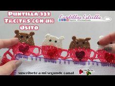 Kit Bebe, Diy Crochet, Crochet Patterns, Weaving, Teddy Bear, Tatoos, Knitting, Lace, Crafts