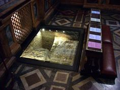 Tomb of St. Paul. Ope Benedict XVI approved an examination of the tomb, located in the Roman basilica of St. Paul outside the walls.