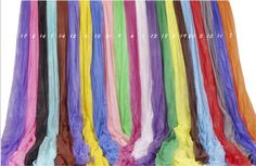 Pure Color Muslin Fantasy Cloth - Photo Equipment Store Australia