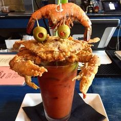 softshell bloody mary | ... , PA, United States. soft shell crab Bloody Mary was the best