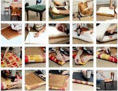 Resultado de imagem para bancos e cadeira e sofas repaginados