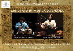 Concerto di musica afghana. Ad Altrevie, sabato 16 novembre ore 21