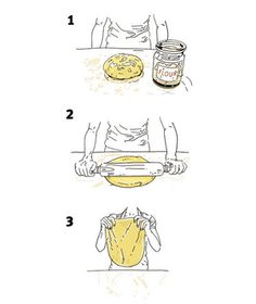 Over  90 illustrated Kitchen Tricks and Tips From Our Expert Cooks. THIS IS GREAT.