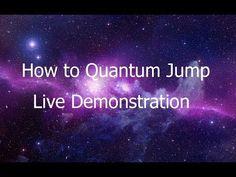 Quantum Jumping - Burt Goldman - How to Quantum Jump - Live Demonstration - YouTube #Meditation #Guidedvisualization