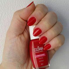 Red Nails (Colorama Estreia) #red #nails #colorama #estreia