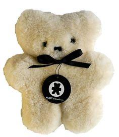 Kol Kid : FLATOUT Bear-Mini Milk Baby ~ I love this little bear! It's soooo soft and cute!