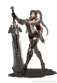 2010년도 작업 Game Character, Character Concept, Female Character Design, Game Concept, Character Design Inspiration, Fantasy Armor, Fantasy Weapons, Medieval Fantasy, Fantasy Inspiration