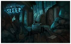 Among the sleep conceptart 15 by griffsnuff on deviantART