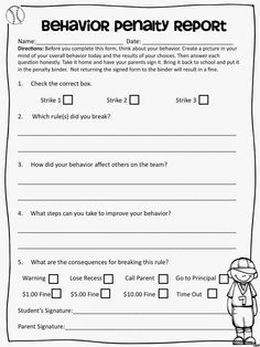 Making students accountable for their own behavior management. Note: money is part of a math check book system, not real currency Classroom Rules Memes, Sports Theme Classroom, Classroom Economy, Art Classroom Management, 2nd Grade Classroom, Class Management, Future Classroom, School Classroom, Classroom Organization