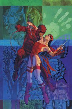 Daredevil and Elektra  Brian Stelfreeze