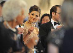 Princess Victoria - Crown Princess Victoria & Daniel Westling: Pre Wedding Dinner - Inside